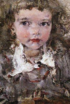 'Painter's Daughter Iya' -   Nikolay Feshin (1881 -1955)