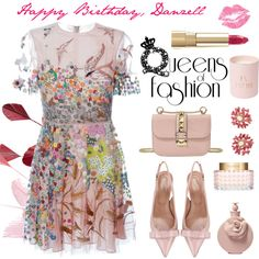 Please Read Description by conch-lady on Polyvore featuring moda, Valentino, RED Valentino, Dolce&Gabbana and birthday