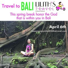 Travel to Bali with @ileannasim and live your own story!  April 6th   Contact now!  ileannasimancas.com  ileannasimancas@lilithstravel.com info.lilithstravel@gmail.com #lilithstravel #IleannaSimancas #travelblog #travel #womentraveler #blogger #blog #world #time #storyteller #style #lifestyle #photography #bussines #story #writer #creative #fly #walk #women #adventuretimes