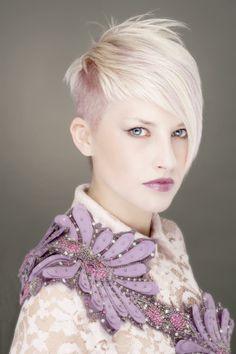 Hair: William De Ridder Stylist: Vankets Nicky Make up: Van Rie Products: Paul Mitchell