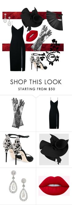 """""""My ex's funeral"""" by glamgirlworldwide on Polyvore featuring Dolce&Gabbana, Christopher Esber and Gucci"""