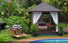 Tropische - Aziatische - Bali - Tuin - Tropical - Asian - Garden - Indo - Indonesie - Indonesia