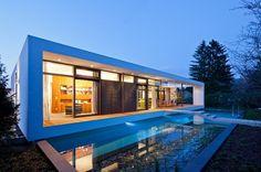 Casa C1 Diseño Minimalista por Dettling Architekten, Alemania : Dossier de Arquitectura