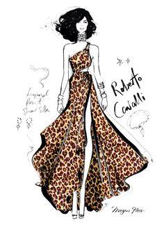 Image from http://stylehunter.com/wp-content/uploads/2014/11/Megan_Hess_DESIGNER_ROBERTOCAVALLI-670x924.jpg.