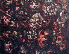 Máscaras, de Laxeiro Painting