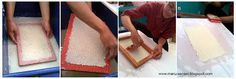 Linda Kurnia Lany: Membuat Kertas Daur Ulang