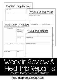 Writing A Homeschool Field Trip Report  Wehavekids  Homeschool