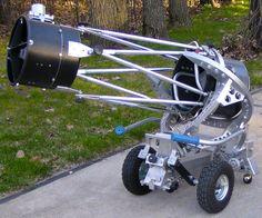 10 inch f/4.5 Newtonian - Home built starrocker