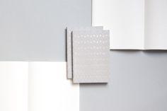 Ola Studio Dash Print Brass on Grey