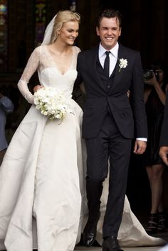 carol trentini, bride, flowers