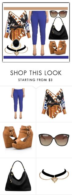 """""""LIAT"""" by oliviaoistrach ❤ liked on Polyvore featuring Chaus, Lenny, Ashley Stewart, Linda Farrow and Michael Kors"""
