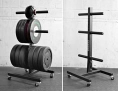 Vertical Plate Tree - Bumper Storage - Rogue Fitness