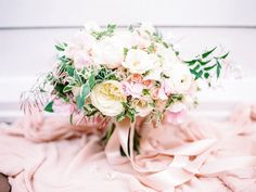 A Blush & Sage Michigan Wedding via TheELD.com designed by Hey Gorgeous Events | Bradley James Photography
