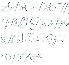 Before the Rain a calligraphy font