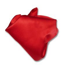 Available now for  is a RED Solid Color Hankerchief Pocket Square Hanky