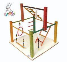 Playground Parquinho Grande Para Calopsita + Brinde!!!