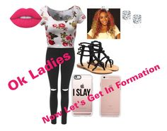 Formation by niam2cute on Polyvore featuring polyvore, Topshop, Mystique, Casetify, Lime Crime, fashion, style and clothing