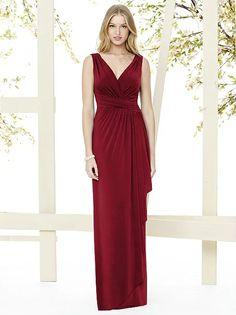Social Bridesmaids Style 8146 http://www.dessy.com/dresses/bridesmaid/8146/?color=claret&colorid=12#.VpsUHiorKhc