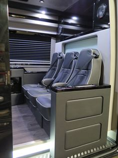 El Kapitan Builds Luxury Executive Conversion Vans For Business People With Discriminating Tastes On Mercedes Sprinter Ford Dodge Chevy And GME