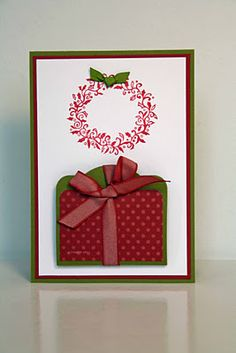 Stampin' Up! Es weihnachtet sehr Moving Card Two Tags