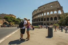 Los coliseos como en Roma son dignos de visitar #Roma #viajar #coliseos #turismo #diversión