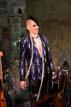 Mr. Tony Vincent as St. Jimmy in American Idiot Musical on Broadway.