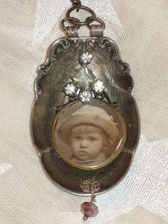 Spoon pendant by Artsy Fartsy