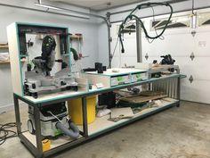 Custom MFT work station
