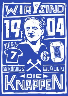 """""""Schalke04"""" by Lawerta Part of """"Bundesliga"""" a personal project about german football teams."""