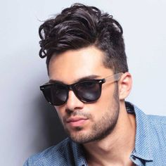check out 35 Inspiring Hipster Haircut ideas, that gives you flashiest look and match your unique sense of style. Mens Hairstyles Fade, Hipster Hairstyles, Slick Hairstyles, Hipster Haircuts For Men, Funky Haircuts, Men Hipster, Men's Haircuts, Medium Hair Styles, Curly Hair Styles