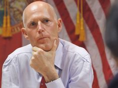 """07/19/13 FL Gov. Scott Meets with Pro-Trayvon Protesters, Rejects Demands ~ Dream Defenders, an activist group that has been occupying Florida Gov. Rick Scott's office, met with him in the state Capitol at 21:00 Thur. The nearly hour-long meeting ended in a stalemate, and the sit-in protests will continue. The group had demanded a special legislative session to consider """"The Trayvon Martin Civil Rights Act,"""" which includes an end to police profiling and the repeal of the """"Stand Your Ground""""…"""