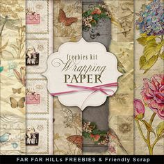 FREE Freebies Kit of Backgrounds - Wrapping-Paper By Far Far Hill
