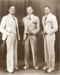 the blue devils saxophone section 1932 #vintagestyle www.hypercool.com.br