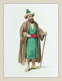 Dervish. Ottoman empire historical clothing