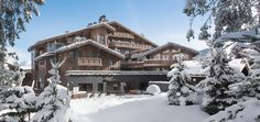 A brand new hotel to Courchevel 1850 - Hotel Barriere les Neiges. Ski in-ski out hotel on the Bellecote piste, excellent location. Most Luxurious Hotels, Best Hotels, Luxury Hotels, Chalet France, Amazing Destinations, Travel Destinations, French Ski Resorts, Courchevel 1850, Inclusive Holidays
