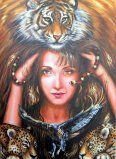 tela premiada na V exposição internacional de pintura artística - AGAPA - Gramado 2013, acrílico sobre tela, 50x70cm