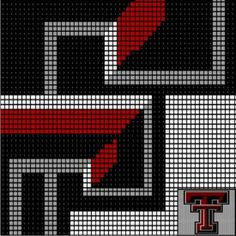 TEXAS TECH - DD22 via Loopaghans Custom Crochet. Click on the image to see more!