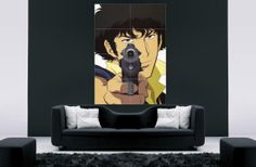 Cowboy bebop anime  cartoons wall decor wall art by PosterRoster, $25.00