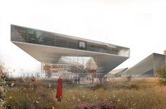 NEXO ARQUITECTURA: New Aarhus School of Architecture competition