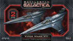 FabGearUSA - Battlestar Galactica 1/72 Scale Viper MKVII 2-Pack Model Kit, $34.95 (http://www.fabgearusa.com/battlestar-galactica-1-72-scale-viper-mkvii-2-pack-model-kit/)