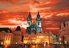 Red sky in Prague! https://www.facebook.com/photo.php?fbid=575552462458995=pb.382262905121286.-2207520000.1360137938=3