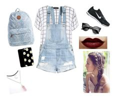 """Cool kids (school)"" by tamikanguyen on Polyvore"