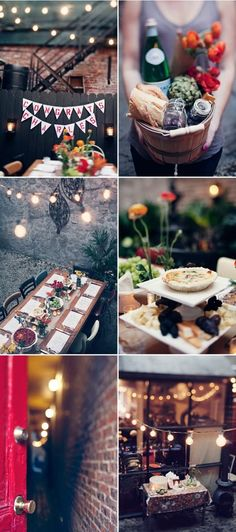 fall party - such a lovely ambiance