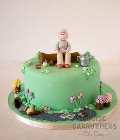 1000 images about garden cakes on pinterest garden for Garden theme cake designs