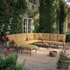 Have to have it. Rioja Collection Aluminum Sectional Set - Seats up to 7 $765.01