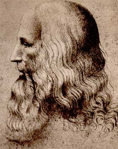 Leonardo da Vinci, presumed self-portrait #TuscanyAgriturismoGiratola