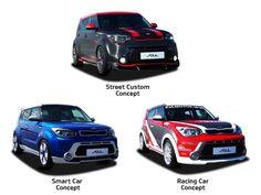 Der #KiaSoul ist ein echter Transformer ;) Welche Variante gefällt Euch denn am besten....Cooler Cityflitzer, knallharter Streetfighter oder lieber gleich ein Rennwagen? Er kann (fast) alles sein :) Kia Soul, Transformers, Scion Xb, Race Cars