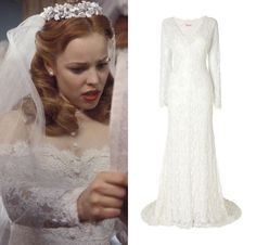 In The 2004 Romantic The Notebook Allie Rachel McAdams Chooses A Long Sleeved Lace Wedding