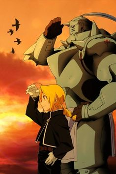 Full Metal Alchemist....I know someone who will repin this ;)