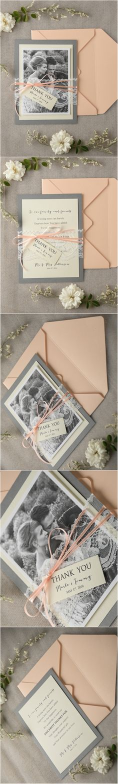 Don't forget to say 'Thank You' to your wedding guests ! - Lovely Thank You…